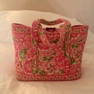 Vera Bradley Petal Pink Toggle Tote Purse